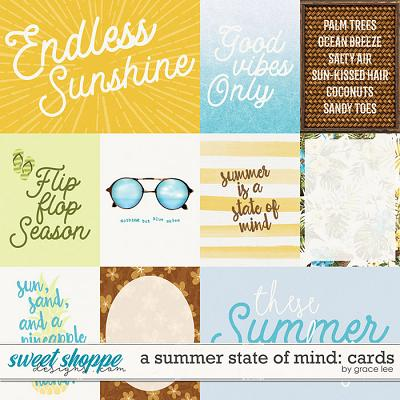 A Summer State of Mind: Cards by Grace Lee