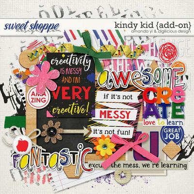 Kindy Kid {add-on} by Amanda Yi & Digilicious Design