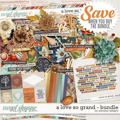A love so grand - Bundle by WendyP Designs