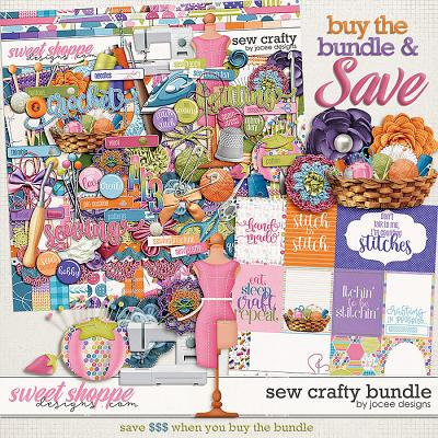 Sew Crafty Bundle by JoCee Designs