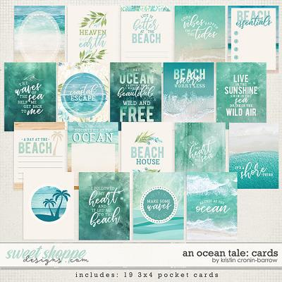 An Ocean Tale: Cards by Kristin Cronin-Barrow