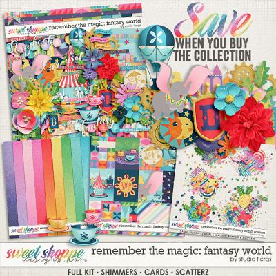 Remember the Magic: FANTASY WORLD- COLLECTION & *FWP* by Studio Flergs