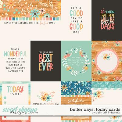 Better Days: Today Cards by Kristin Cronin-Barrow