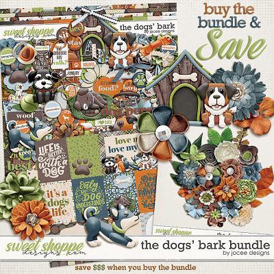 The Dogs' Bark Bundle by JoCee Designs