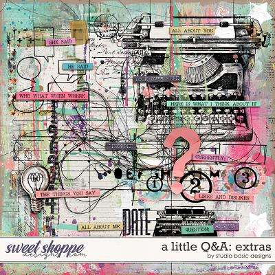 A Little Q&A Extras by Studio Basic