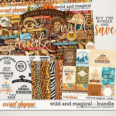 Wild And Magical Bundle by Digital Scrapbook Ingredients