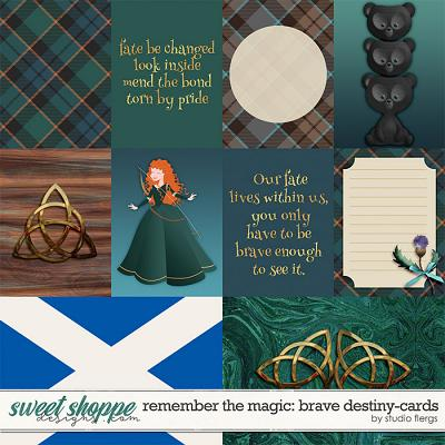 Remember the Magic: BRAVE DESTINY- CARDS by Studio Flergs