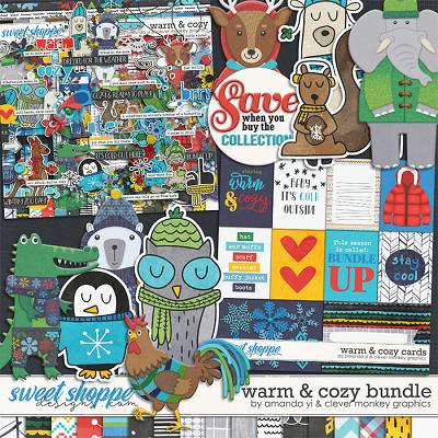 Warm & Cozy: Bundle by Amanda Yi & Clever Monkey Graphics