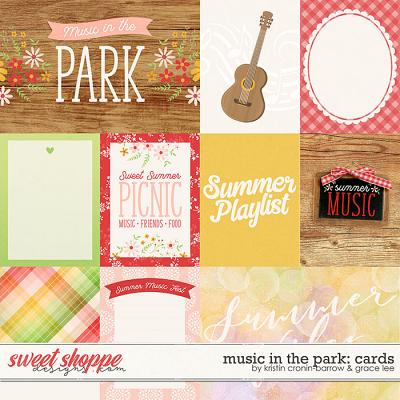 Music In The Park: Cards by Grace Lee and Kristin Cronin-Barrow