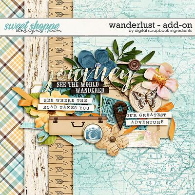 Wanderlust Add-On by Digital Scrapbook Ingredients