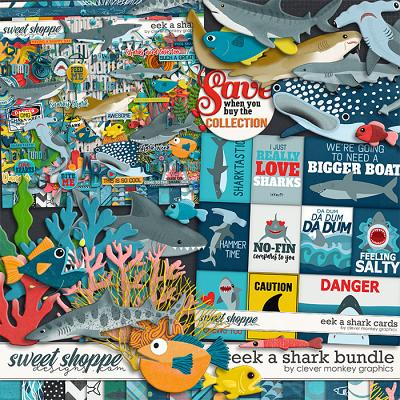 Eek a Shark Bundle by Clever Monkey Graphics