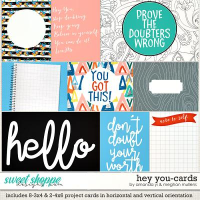 Hey You: Cards by Amanda Yi & Meghan Mullens