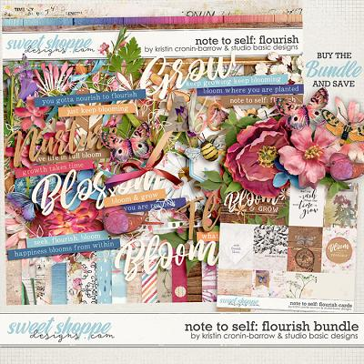 Note To Self: Flourish Bundle by Kristin Cronin-Barrow & Studio Basic