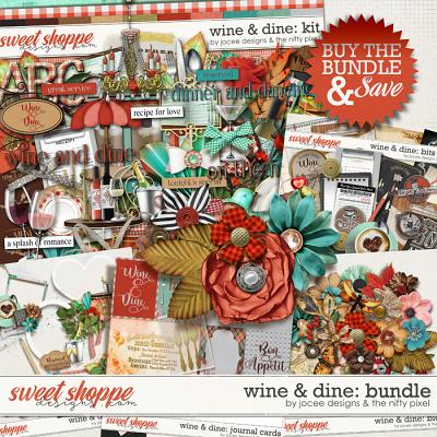 Wine and Dine Bundle by JoCee Designs and The Nifty Pixel