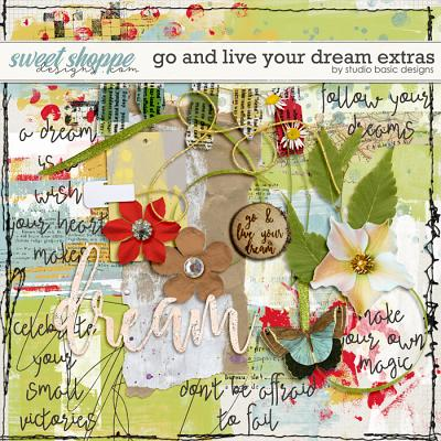 Go And Live Your Dream Extras by Studio Basic