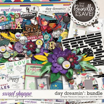 day dreamin bundle: simple pleasure designs by jennifer fehr