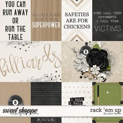 Rack 'Em Up: Cards by River Rose Designs