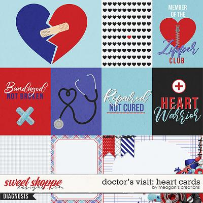 Doctor's Visit: Heart Cards by Meagan's Creations