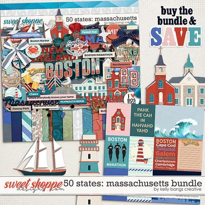 50 States: Massachusetts Bundle by Kelly Bangs Creative