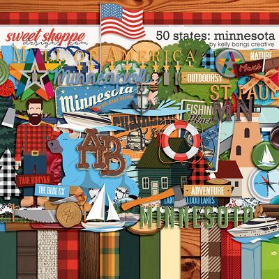 50 States: Minnesota by Kelly Bangs Creative