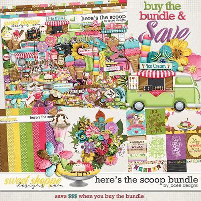 Here's the Scoop Bundle by JoCee Designs