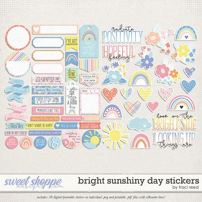 Bright Sunshiny Day Stickers by Traci Reed