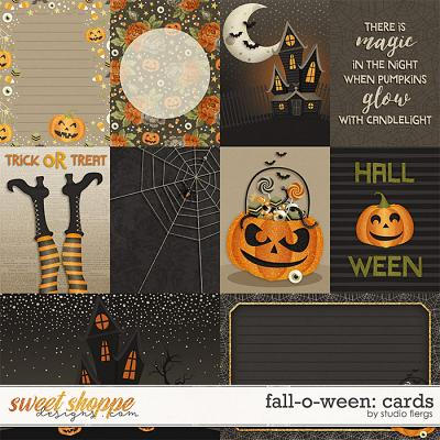 Fall-o-ween: CARDS by Studio Flergs