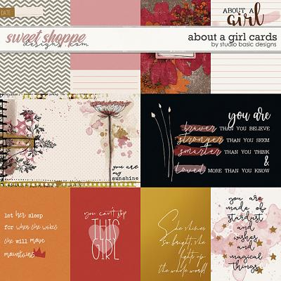 About a Girl Cards by Studio Basic