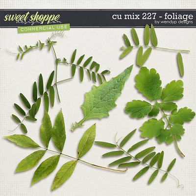 CU Mix 227 - Foliage by WendyP Designs
