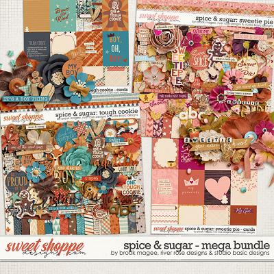Spice & Sugar Mega Bundle by Brook Magee, River Rose and Studio Basic