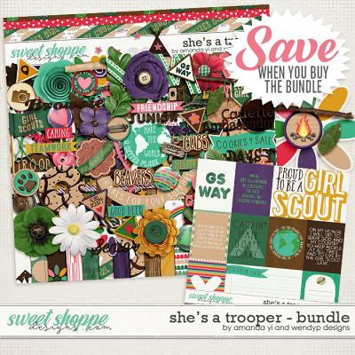 She's A Trooper: Bundle by Amanda Yi & WendyP Designs