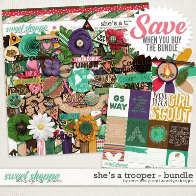 She's A Trooper: Bundle by Amanda Yi & WendyP Designs