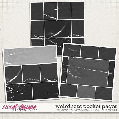 Weirdness Pocket Pages by Clever Monkey Graphics & Tracy Martin Designs