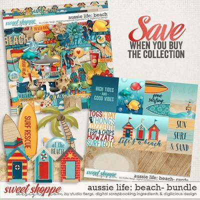 Aussie Life: Beach- BUNDLE by Digilicious, DSI & Flergs
