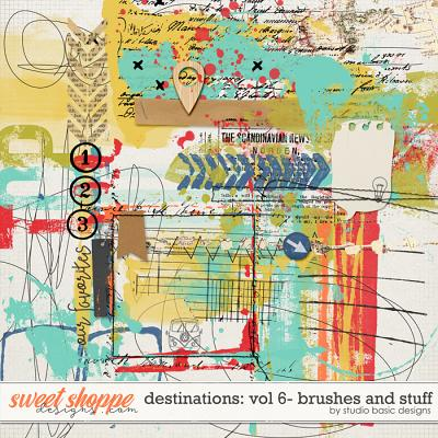 Destinations: Vol 6 - Brushes And Stuff by Studio Basic