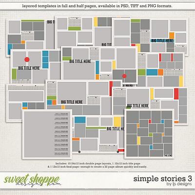Simple Stories 3 by LJS Designs