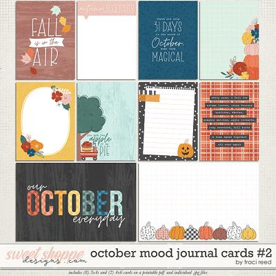 October Mood Cards 2 by Traci Reed