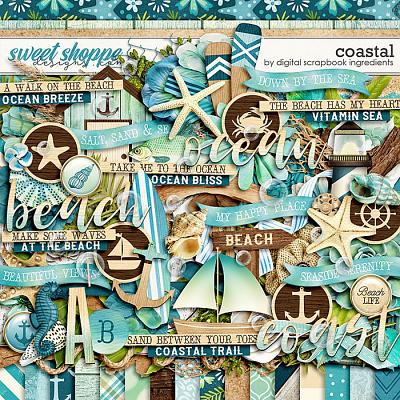 Coastal by Digital Scrapbook Ingredients