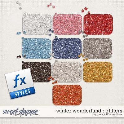 Winter Wonderland : Glitters by Meagan's Creations