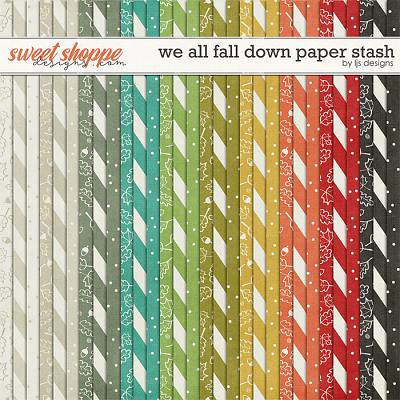 We All Fall Down Paper Stash by LJS Designs