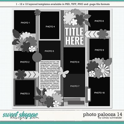 Cindy's Layered Templates - Photo Palooza 14 by Cindy Schneider