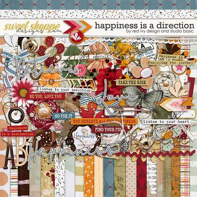 Happiness Is A Direction Kit by Red Ivy and Studio Basic