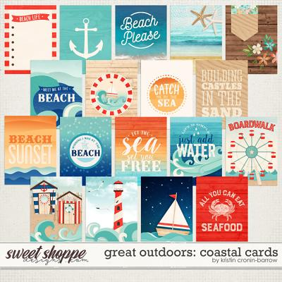 Great Outdoors: Coastal Cards by Kristin Cronin-Barrow