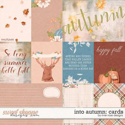 Into Autumn: Cards by River Rose Designs