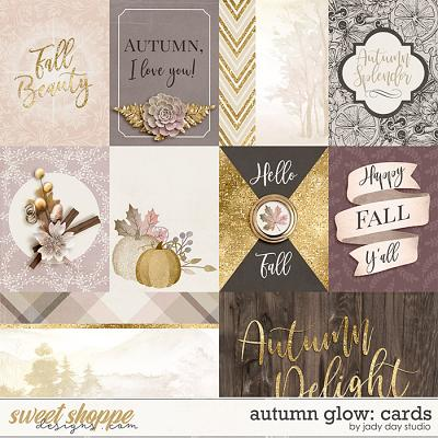 Autumn Glow Pocket Cards by Jady Day Studio