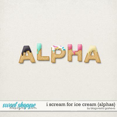 I scream for ice cream {alphas} by Blagovesta Gosheva