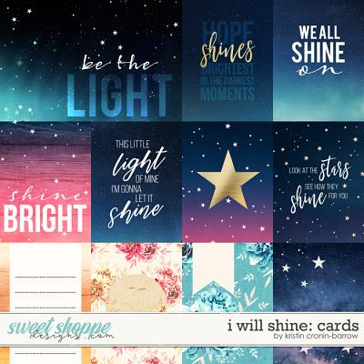 I Will Shine: Cards by Kristin Cronin-Barrow