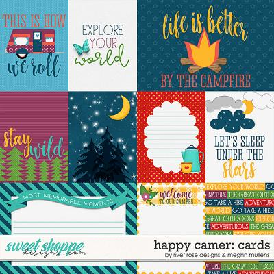 Happy Camper Card Pack by Meghan Mullens & River Rose Designs