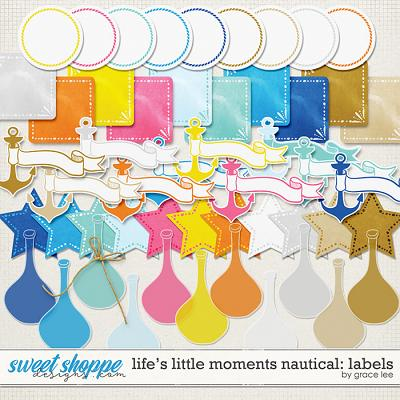 Life's Little Moments Nautical: Labels by Grace Lee