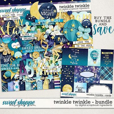 Twinkle Twinkle Bundle by Digital Scrapbook Ingredients